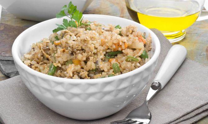 Dieta del arroz integral