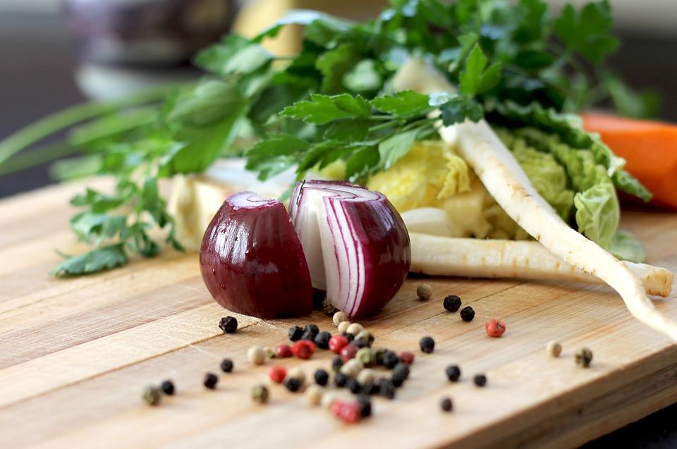 Verdes, Cebolla, Especias, Hortalizas, Los Alimentos