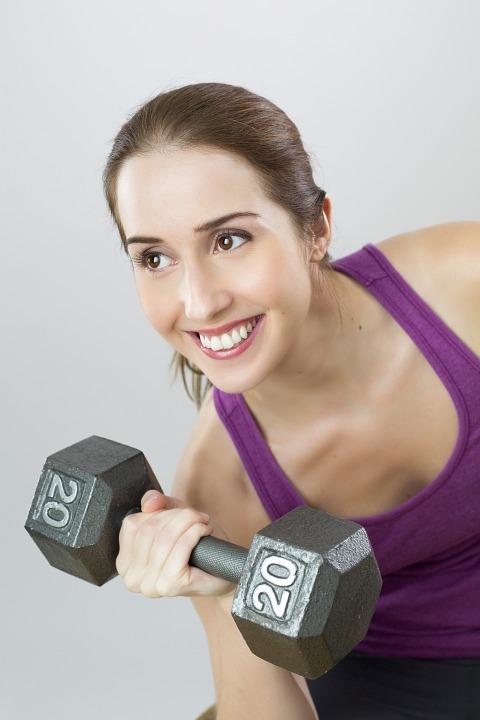 Ejercicio, Peso, Mujer, Deporte, Chica, Formación